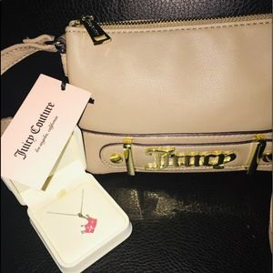 Juicy Couture Shoulder Bag New With Bonus Gift